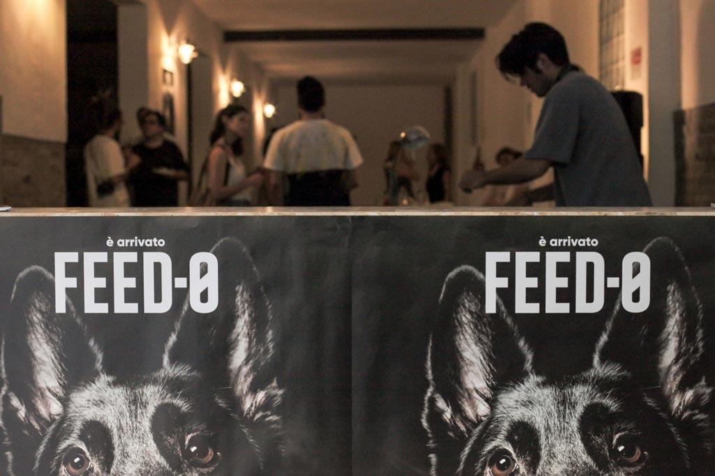 foto dell'aperitivo di inaugurazione del primo flagship store per cani