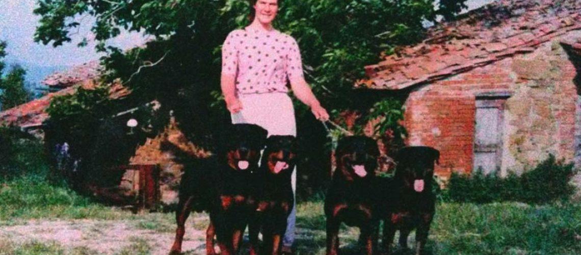 Yvonne con i suoi Rottweiler del Cavaliere Nero, l'intervista di FEED-0