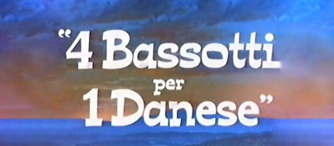 quattro bassotti per un danese copertina