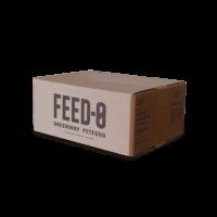 Scatola Mini 23x30x12 cm  Cartone doppia onda resistente  Utilizzato per la spedizione di un sacco da 1,6 Kg di mangime, 2 confezioni da 800g di biscotti o 12 scatolette di patè